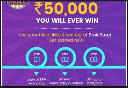 Learn next quiz contest for money