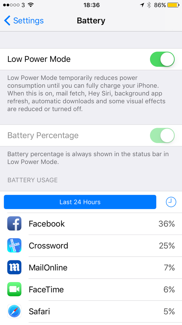 Why Is The Battery Icon On My Iphone Yellow Quora