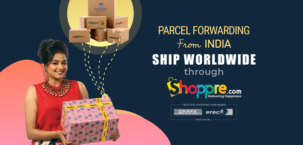 Are there any package forwarding websites in India? If so