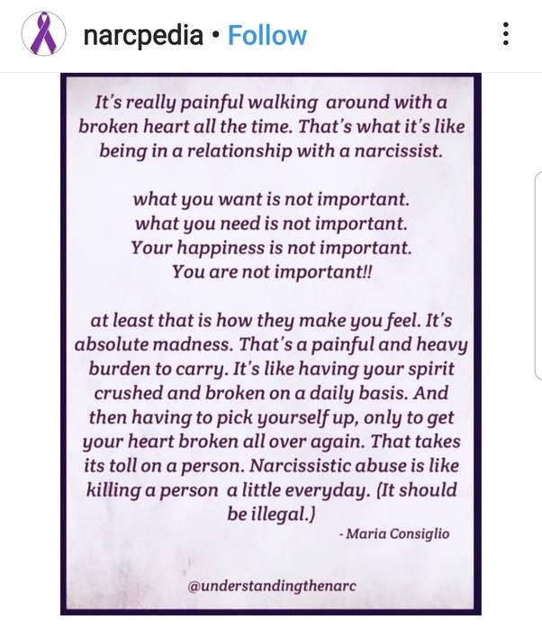Do narcissists know when they mess up a relationship? - Quora