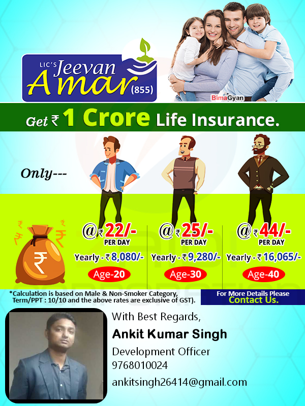 What is LIC new 'Jeevan Amar plan'? - Quora