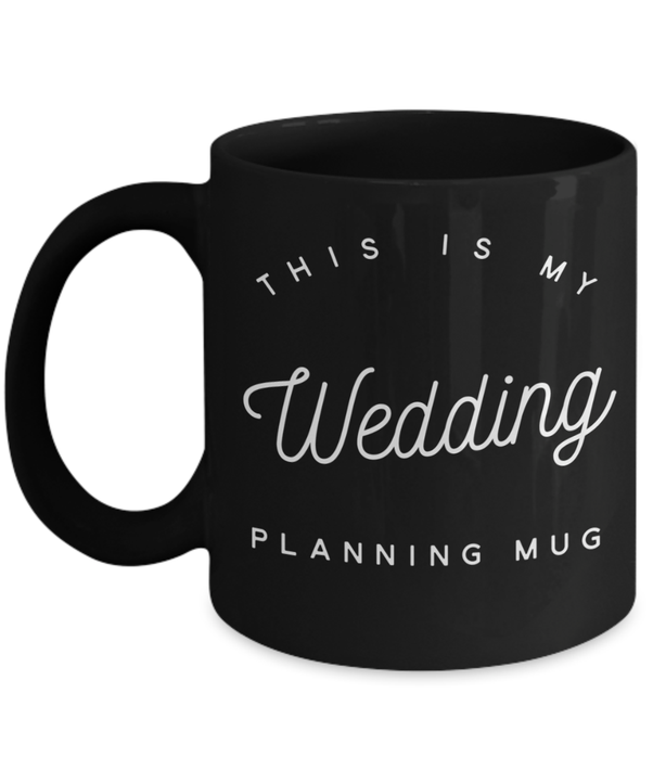 bride to be gifts for bridal shower this is my wedding planning coffee travel mug