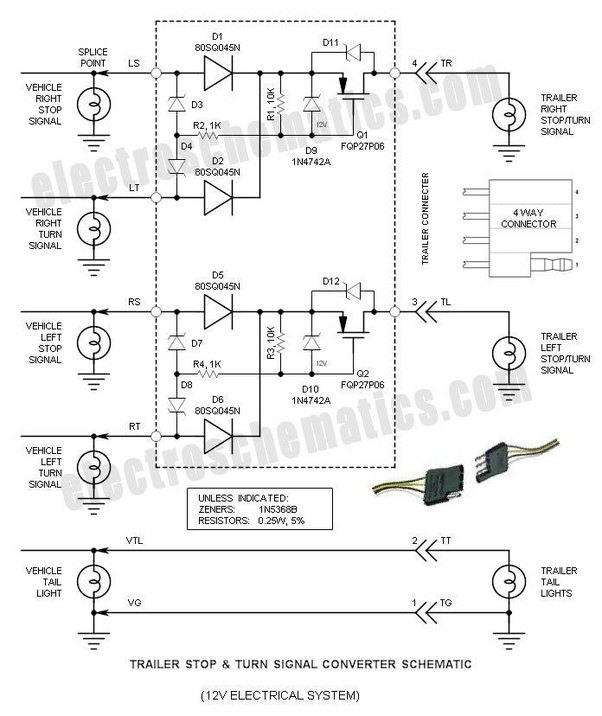 when rewiring a utility trailer  how can you identify the