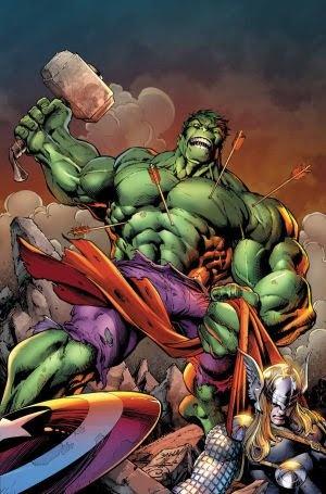 can the incredible hulk lift thors hammer