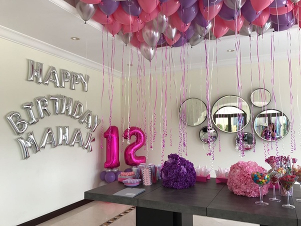 How Should A Room Be Decorated With Budget Things For Birthday