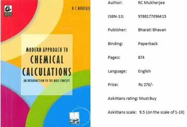 Which is the best book for physical chemistry for the iit jee quora called modern approach to chemical calculations this book excellently covers all types of numericals related to physical chemistry fandeluxe Images