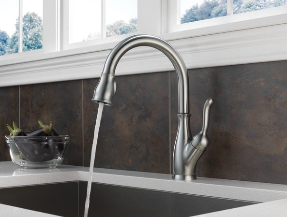 An Upmarket Pull Down Faucet, With Top End Functionality, The Delta  9178 AR DST Is A Stylish Option For Your Kitchen. Here Is More About It.