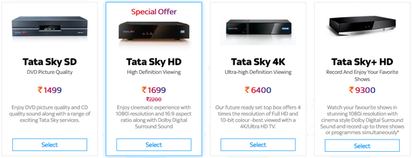 Which is the best DTH service in India? - Quora