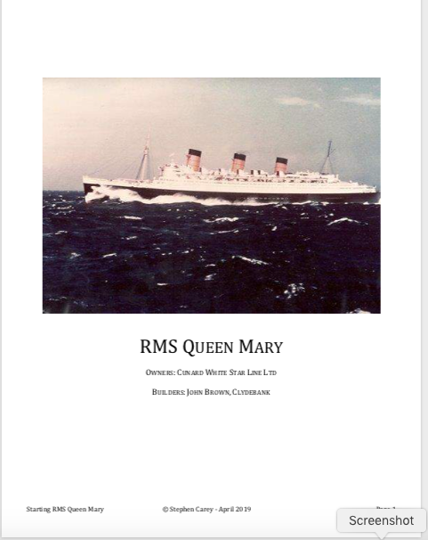 Queen Mary Engine Room: Why Did Cunard Demand That The RMS Queen Mary's Engine