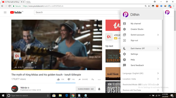 Where can I find YouTube dark theme for Android? - Quora