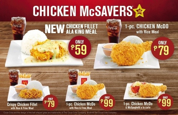 Does mcdonald 39 s serve rice in your country quora for Mcdonald s fish sandwich price