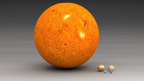 What would happen if all the gas giants (in the Solar System
