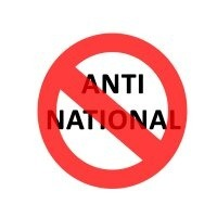 what is the definition of anti national legally and technically