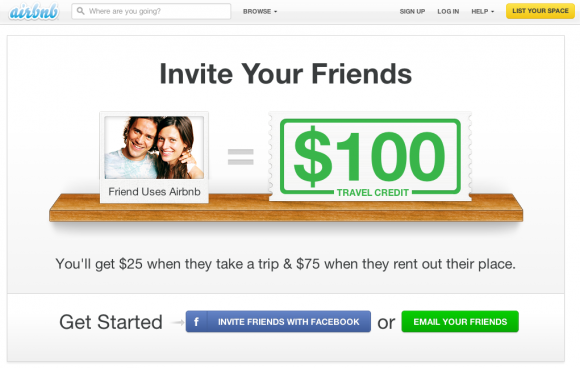 What are the best examples of social referral programs quora airbnb is another example their referral program was one of the reasons of their early growth theres a number of reasons why this worked well for them altavistaventures Images
