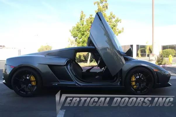 Lamborghini Gallardo Door Kit by Vertical Doors Inc & Is it worth adding scissor doors to a Lamborghini Gallardo Spyder ...