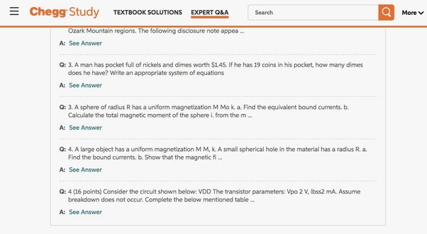 Does Chegg penalize answers that are flagged as spam? - Quora