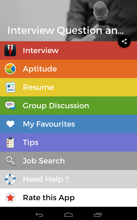 what are the best apps for interview questions