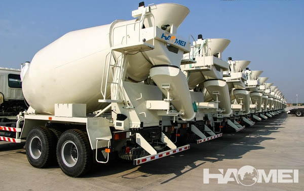 The Working Principle Of Concrete Mixers Trucks For Sale Is While Mixer Truck In Process Driving And Waiting Unloading