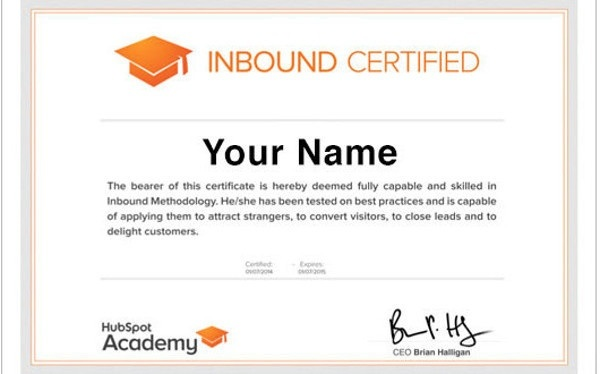 Where can i find the best online digital marketing courses i want hubspot offers several certifications everyone is eligible to take the hubspot inbound marketing certification course and exam for free fandeluxe Choice Image