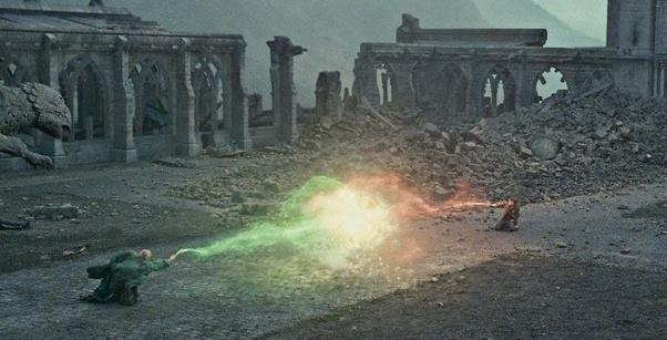 How Can Harry Kill Voldemort Given That Avada Kedavra Doesn T Work Against Caster S Own Blood Quora