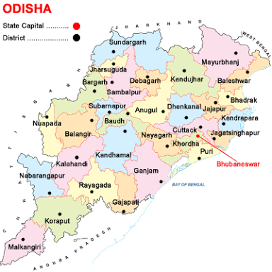What is the name of the 30 district of Odisha? - Quora