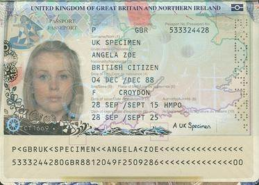 Where in my UK passport does it tell you've if it was ...