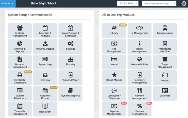 What is the best web based school ERP or School Management System