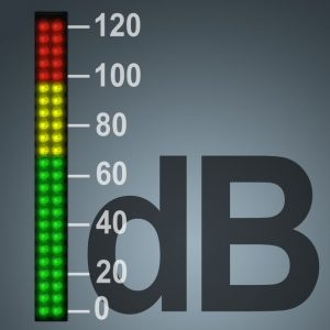 How to measure the decibel level of music coming from my