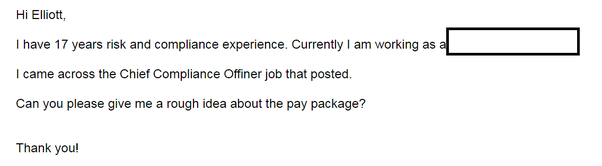 If i send an email to a recruiter what should i write quora i started with my many years of experience and expertise it was a very short email the chances are high that the recruiter read it entirely ccuart Gallery