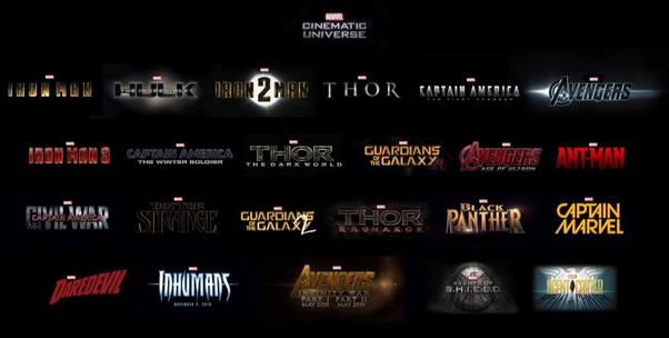 marvel film universe