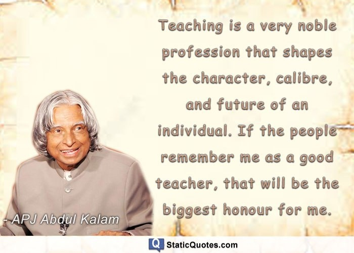 Which Is The Best Saying Of Dr A P J Abdul Kalam Quora