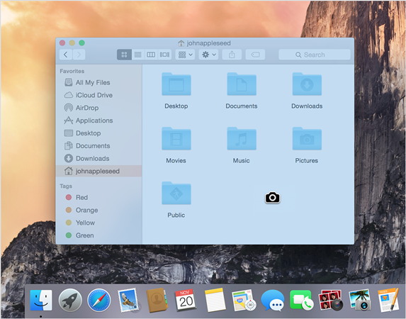 how to save screenshot on mac as pdf