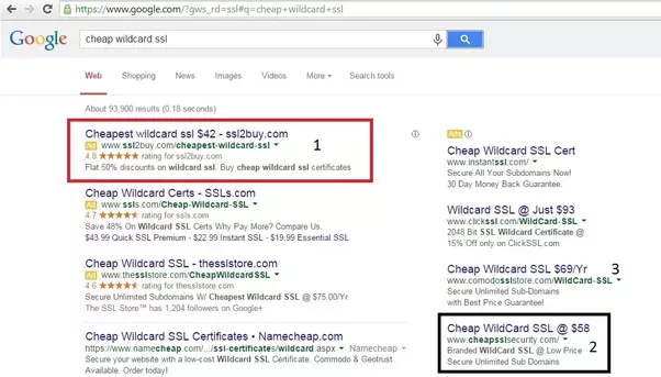 What is the cheapest Wildcard SSL provider right now? - Quora