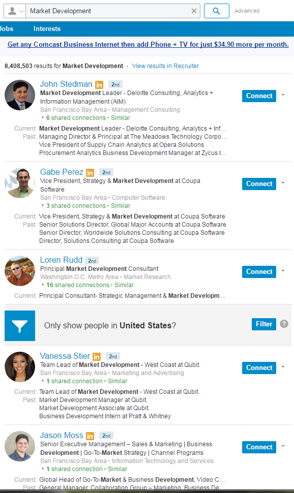 Browse Through The Search Results And Youu0027ll Find These Are People Finding  New Business Opportunities In Certain Sectors For Their Companies.
