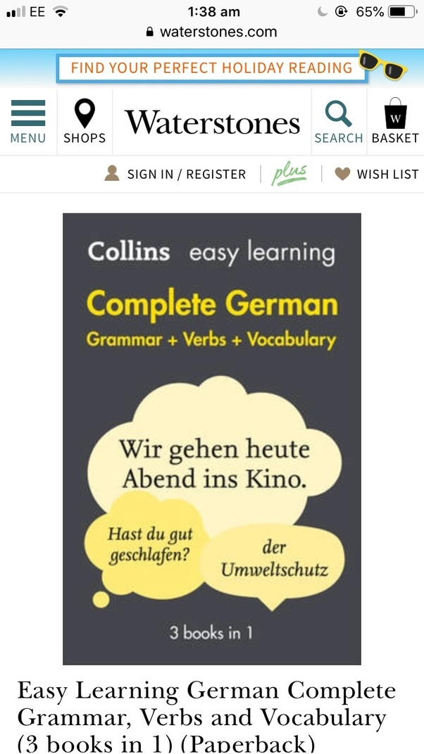 Is it possible to learn German by myself? What are some books I can