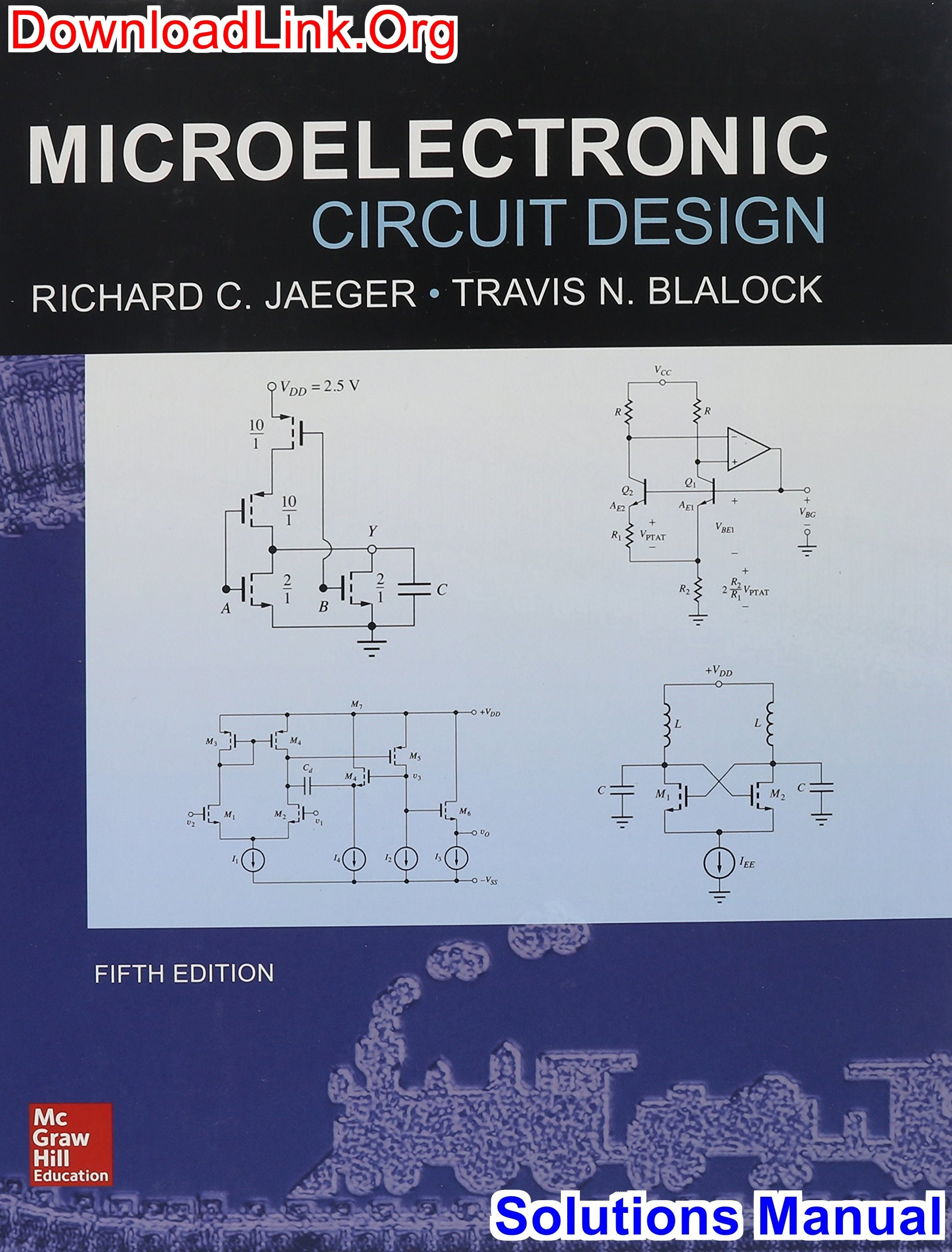 where can i download solution manual for microelectronic circuit