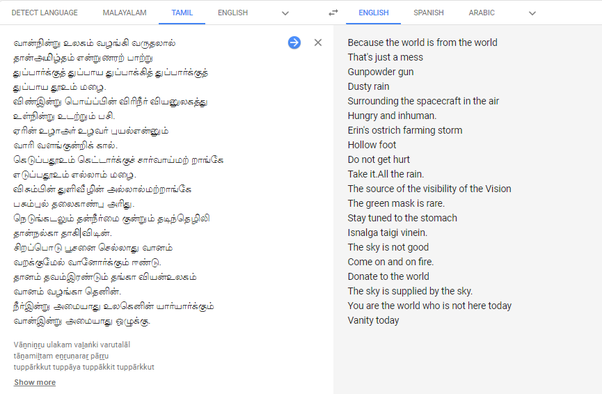 What are the funny meanings which came up using Google