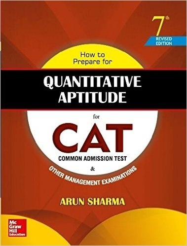 What are the section wise best books to prepare for cat quora how to prepare for quantitative aptitude for cat by arun sharma fandeluxe Images