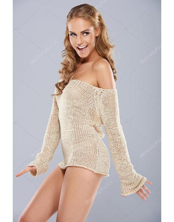 Girls mini skirt nude