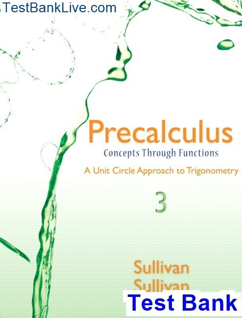 How To Download The Test Bank For Precalculus Concepts Through