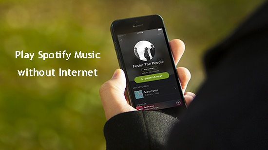 How does Spotify's offline mode work? Does it download the