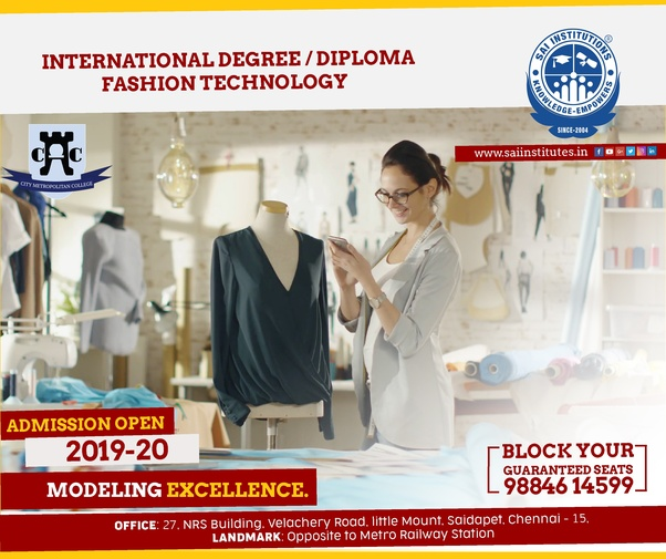 Which Is The Best Fashion Designing College In Chennai Quora