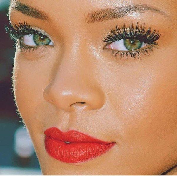Ebony green eyes