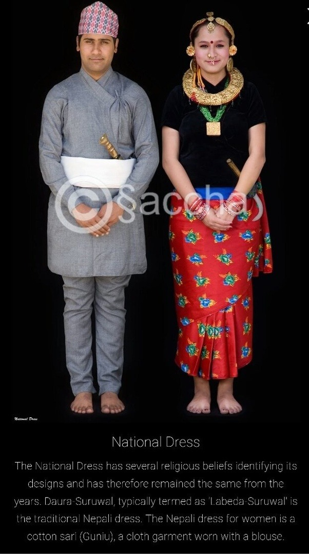 What Is The National Dress Of Nepal Quora