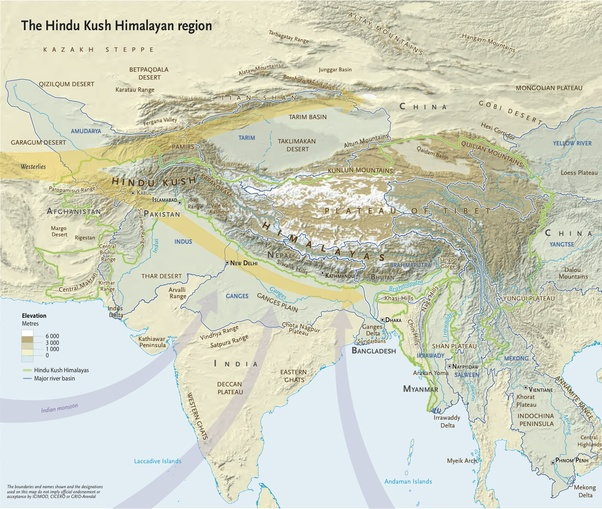 What are the himalaya mountains where are they located quora himalaya great mountain system of asia forming a barrier between the plateau of tibet to the north and the alluvial plains of the indian subcontinent to gumiabroncs Image collections