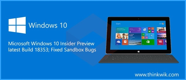 What is a typical Windows 10 insider preview build upgrade size? - Quora