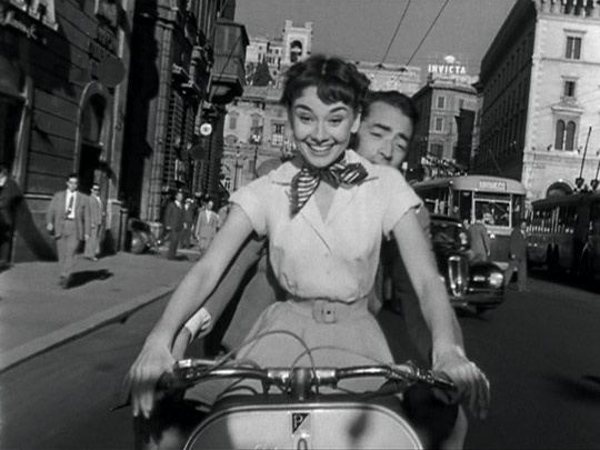 Image result for audrey hepburn roman holiday lines