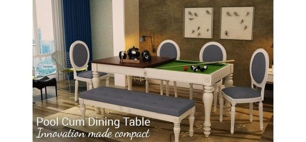 What Is The Best Pool Table That Is Convertible Into A Dining Room Table?