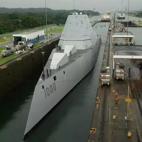 How does a US Navy ship go from the East Coast to the West ...