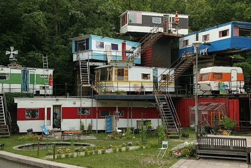Perfect Example Being The Redneck Mansion